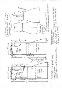 Vestido Império Evasê | DIY - molde, corte e costura - Marlene Mukai