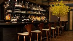 Tribeca Grand Hotel: Downstairs at Church Bar and Lounge, mingle with locals and guests alike.
