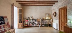 Renovation of an apartment for a writer in Eixample, Barcelona, 2014 - sergi pons architects