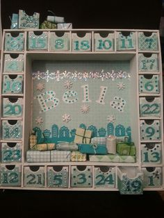 Customised Advent Calender :D