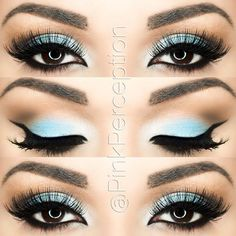 Simple & stunning blue by IG'er: @pinkperception using her Take Me to Brazil Eyeshadow Palette: http://bit.ly/1n5LSxG
