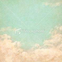 Vintage Grunge Sky Royalty Free Stock Photo