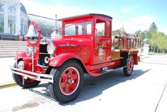1929 Ford Model A Fire Engine...