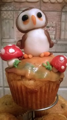 Pingue cupcake