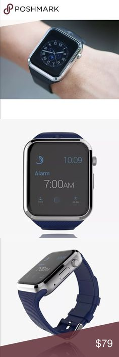 Smart watch Works with only android phones.  Adjustable wrist fit brand new with all accessories Accessories Watches