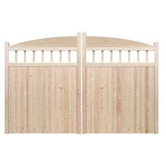 Driveway gates - The Redhill. Constructed by hand in the UK using the finest Redwood Pine. Made to measure. Huge range of designs to choose from.
