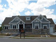 Prime Amusing House Color Schemes Exterior Brown Roof Wooden Garage Door Largest Home Design Picture Inspirations Pitcheantrous