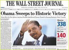 Image result for barack obama newspaper headlines