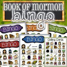 Book of Mormon Bingo - INSTANT DOWNLOAD