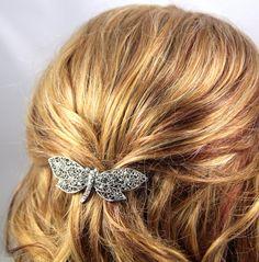 Dragonfly hair barrette