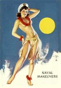 -Hawaii Hula Sailor