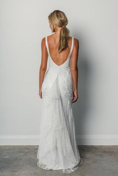 Sexy, elegant and feminine, Dominique is created from the most beautiful combination of textured layered laces and embroideries that hug and compliment the curves of the body. Wedding Bridesmaid Dresses, Dream Wedding Dresses, Wedding Attire, Wedding Gowns, Wedding Shot, Modest Wedding, Wedding Dj, Church Wedding, Wedding Table