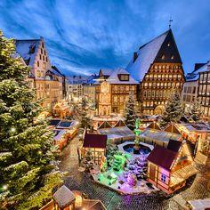 Weihnachtsmarkt in Hildesheim, Germany --- by Michael Abid on 500px
