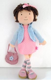 "sophie tilley designs... When I saw this I thought ""It's a Mimi doll""...:)"