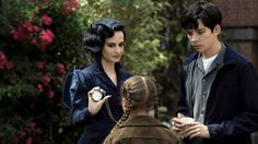 Miss Peregrine's Home For Peculiar Children (2016) (a film review by Mark R. Leeper).