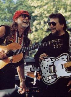Willie and Waylon.....