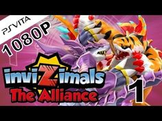 Invizimals The Alliance - Playstation Vita - 1080P - Let's Play Part 1 - It Begins! - YouTube