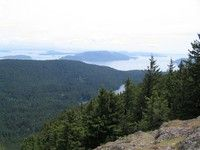 mt constitution trail, orcas island 6.7m 1500ft gain 2410ft elevation