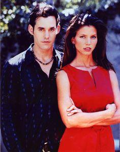 "Buffy the Vampire Slayer S3 Cast: Nicholas Brendon ""Xander,"" Charisma Carpenter ""Cordelia"""