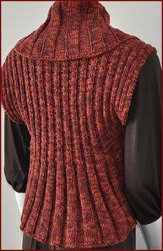 Cotton Twirl Woman's Shrug - free knit shrug pattern - Crystal Palace Yarns