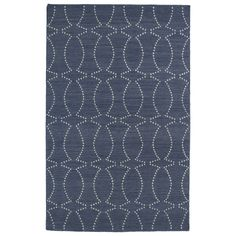 Hollywood Grey Stitch Flatweave Rug (8' x 10') - Overstock™ Shopping - Great Deals on 7x9 - 10x14 Rugs
