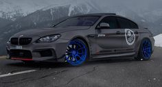 BMW 650ix Eibach springs (lowered by 25mm FRONT and 20mm REAR).562HP and 785Nm torque