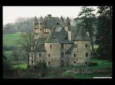 Chateau de Veyrieres - Sansac, Cantal, Auvergne