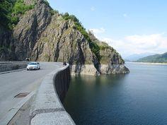Green Road I Curves I Sun I No Traffic I Relax and Drive I Adventure I Sea I Lake I