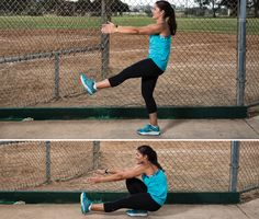 This isolated leg exercise can help build strength, flexibility, balance and coordination.