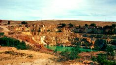 Burra SA: old copper mine from 1846 (1987)