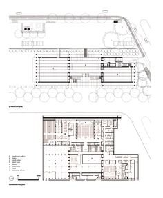 Fort Worth Modern Art Museum Floor Plan  #ando #architecture #tadao Pinned by www.modlar.com