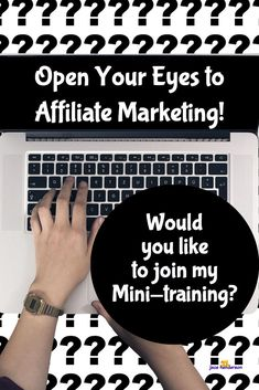 """Affiliate Marketing = List Building = Good for Business! I have a new mini-series on Affiliate Marketing for you ... If you're interested, that is! I will cover: 1. What is Affiliate Marketing? 2. Why is Affiliate Marketing is good for your business? 3. The 6 Step Affiliate Cycle 4. The Affiliate Marketing """"Bad News"""" 5. The Affiliate Marketing """"Good News"""" Click below to Register ♡ Jacs"""