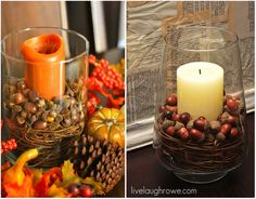 Crafts for Fall - with grapevines