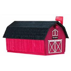 Red Barn Mailbox