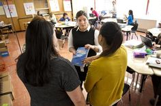 Sixth-grade teachers were among those last week preparing for the start of classes Monday at Idea Allan, Austin's new in-district charter school at the former Allan Elementary in East Austin.