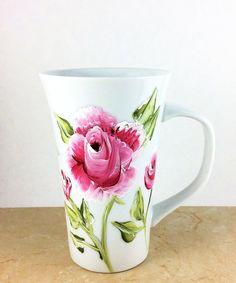 Latte Mug Coffee Mug Customized Latte Mugs by LaposLewisCreations