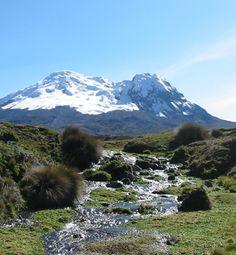 Volcan Antisana, my favourite volcanoe in Ecuador <3