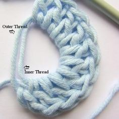 Learn How to Crochet a Magic Ring and Say Buh-Bye to Holes Busy Mom Designs · Crochet Stitch Tutorial: How to do the Magic Circle (also known as Magic Ring or Magic Loop). Crochet Round, Knit Or Crochet, Learn To Crochet, Crochet Crafts, Easy Crochet, Crochet Projects, Crochet Tutorials, Crotchet, Double Crochet
