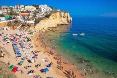 Viaje a las playas de Carvoeiro. Un paraíso del Algarve, Portugal - via Naturaleza y Viajes 28.07.2014 | Foto: Praia do Carvoeiro, Algarve, Portugal