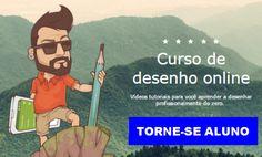 CURSO DE DESENHO - TORNE-SE ALUNO