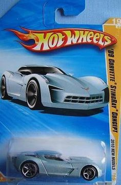 Hot Wheels 09 Corvette StingRay Concept (Light Blue) - 2010 New Models #19 1:64 Scale by Mattel. $1.95. Ages 3 and Up. 1:64 Scale Die Cast. New light blue color!