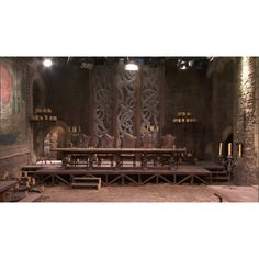 Hall at Winterfell