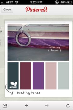 Possible color scheme for the bedroom...so many though I can't decide!