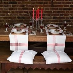 rustic inviting table setting