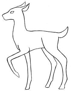 150 Best Deer Drawing Images Elephant Illustration Elephant