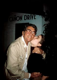 Dean Martin with daughter Gina