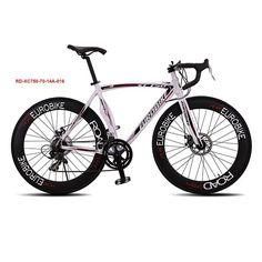 Eurobike XC740 Speed Mans Road Bike 6061 Aluminum Alloy Frame 700C X 23C Wheel Bicicleta Disc Brake Road Bicycle 70MM