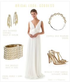Greek Goddess Wedding Dress | Dress For The Wedding