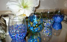 Let the Good Times Flow: DIY Glassware