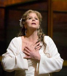 Susan Graham, Les Troyens by Berlioz, Met Opera 2013. Tech Alum